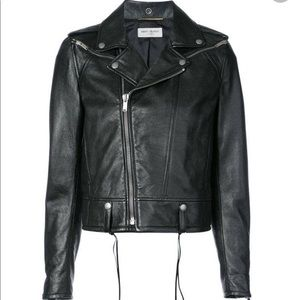Saint Laurent - classic biker jacket